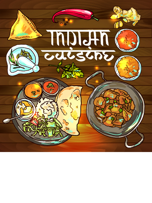 Hand drawn indian food elements vector 06 vector food free download hand drawn indian food elements vector 06 forumfinder Images
