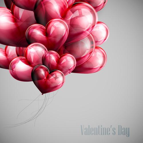 desktop wallpaper valentine heart balloons - photo #14