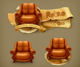 Retro style labels design 02 vector