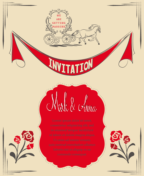 Wedding Invitation Wording Romantic Wedding Invitation Cards