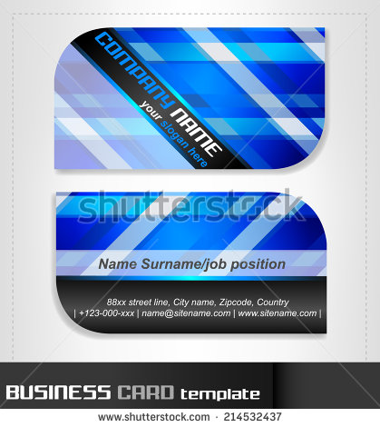 Rounded business cards template vector material 08 vector card rounded business cards template vector material 08 fbccfo