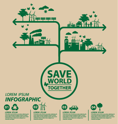 Save world eco environmental protection template vector 11 vector business free download for Environmental protection plan template