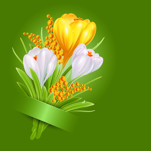 Shiny white with yellow flowers vectors background 02 vector shiny white with yellow flowers vectors background 02 mightylinksfo Image collections