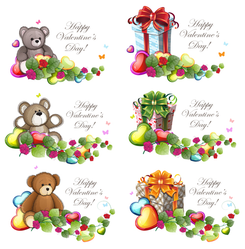 Super cute teddy bear design vector graphics free vector in.