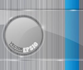 Transparent glass styles web elements vectors 04