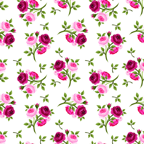 Vintage roses vector s...