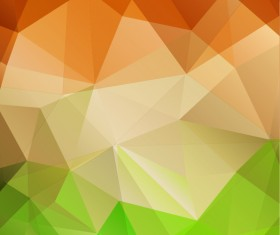 3d triangle geometric vectors background 01