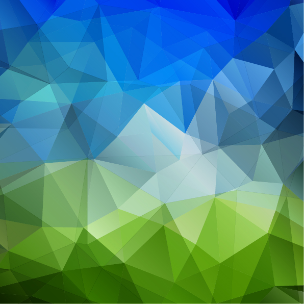 3d triangle geometric vectors background 02