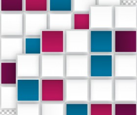 Abstract checkered vector background 01