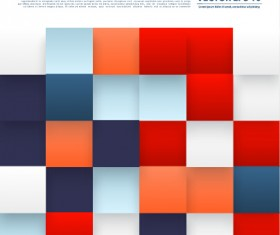 Abstract checkered vector background 02