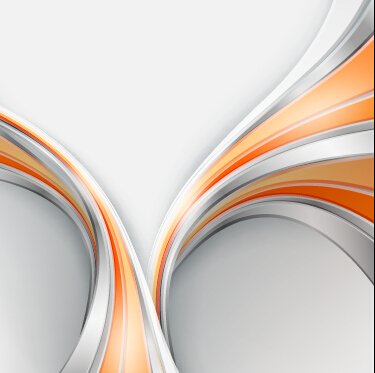 Chrome wave with abstract background vector 10