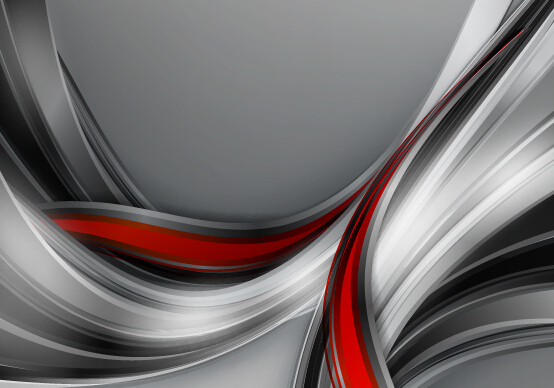 Chrome wave with abstract background vector 13