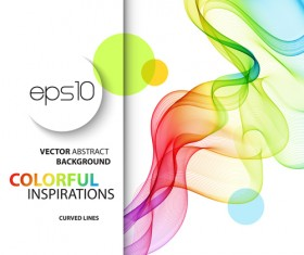 Colored inspirations abstract background 05