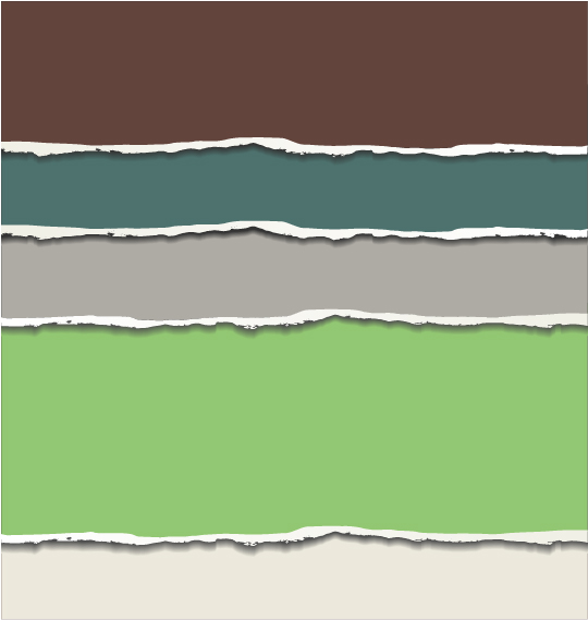 Colored torn paper background vector template 08 free download