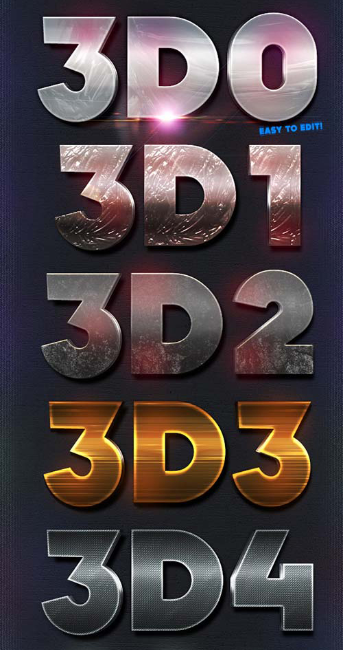 Text effects psd | free-designs. Net.