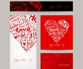 Creative hearts Valentines Day cards 01