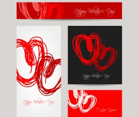 Creative hearts Valentines Day cards 03