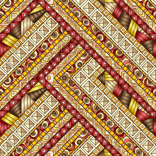 ethnic pattern styles art background vector 02 free download