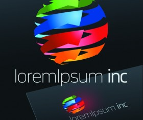 Exquisite business logos vector design elements 02