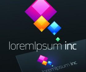 Exquisite business logos vector design elements 03