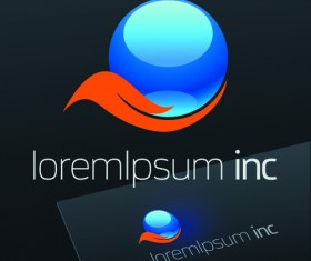 Exquisite business logos vector design elements 07
