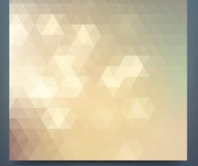 Geometric shapes mosaic background vector set 11