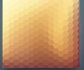 Geometric shapes mosaic background vector set 15