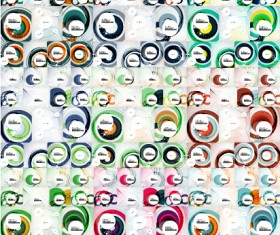 Huge collection modern abstract backgrounds vectors 07