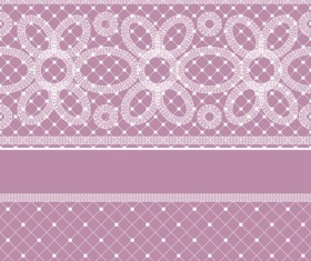 Old lace ornate background vector 02