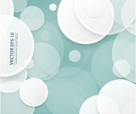 Overlapping circle abstract background 01