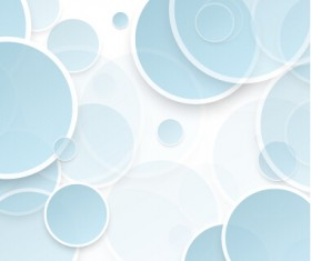 Overlapping circle abstract background 02