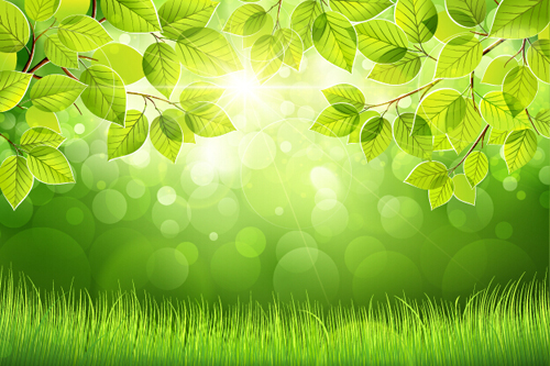 green spring background - photo #23