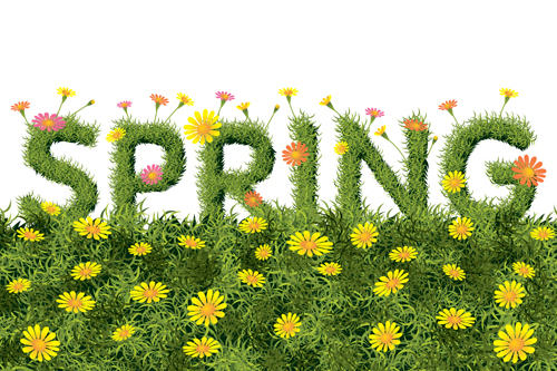 Spring Yellow Flowers Art Background Free Download
