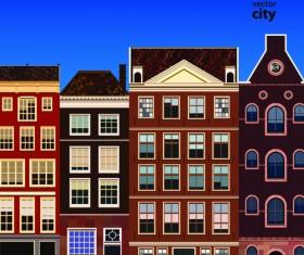 Vector city building creative illustration 10