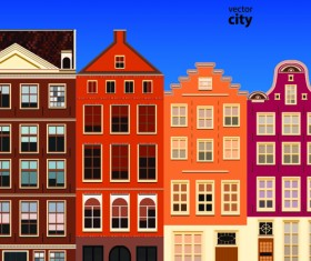 Vector city building creative illustration 11