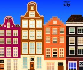 Vector city building creative illustration 13