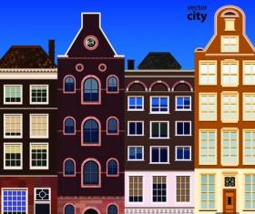 Vector city building creative illustration 15