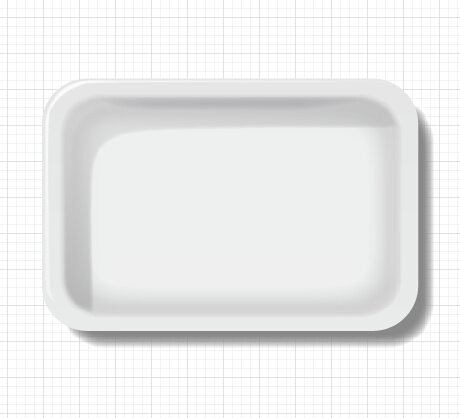 Vector tray design template material 04