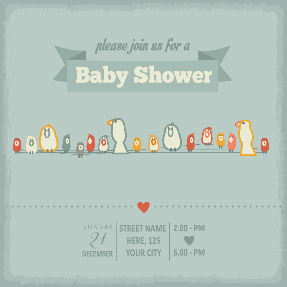 Vintage baby shower invitation cards vector 04 free download vintage baby shower invitation cards vector 04 filmwisefo