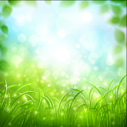 green spring background - photo #6