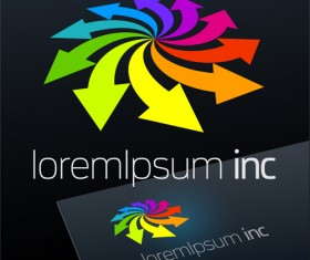 Abstract business logos excellent design vector 15