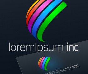 Abstract business logos excellent design vector 22