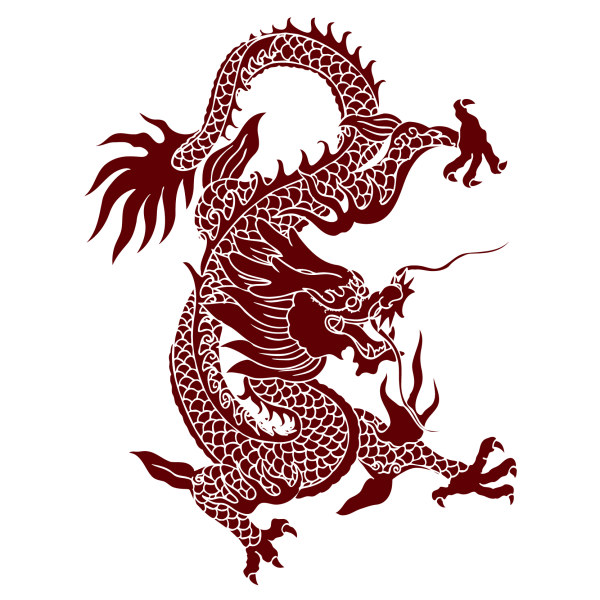 chinese dragon creative vector material free download rh freedesignfile com chinese dragon vector art oriental dragon vector
