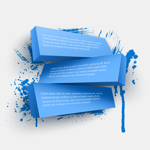 Concept 3d Banners Vector Graphics 01 Vector Banner Free