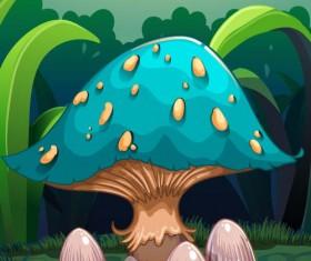 Fantasy fairy tale world cartoon vector 10