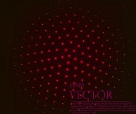 Light dot tech background vector 03