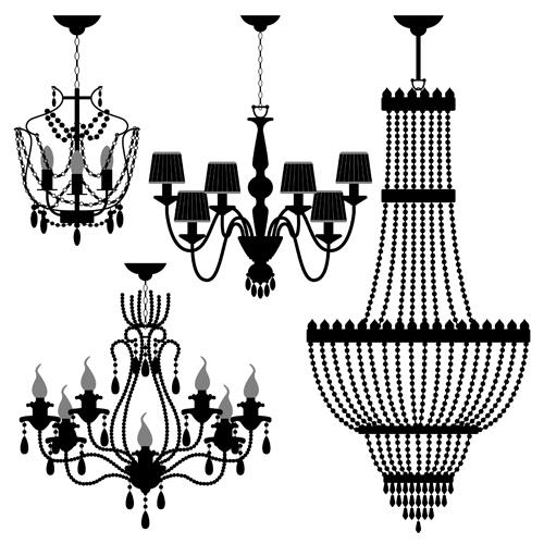 Ornate chandelier vector silhouette set 02 vector silhouettes free ornate chandelier vector silhouette set 02 aloadofball Choice Image