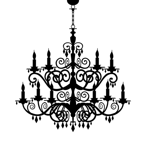 Ornate chandelier vector silhouette set 03 free download ornate chandelier vector silhouette set 03 aloadofball Image collections