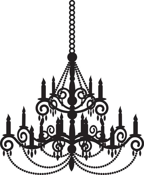 Ornate chandelier vector silhouette set 14 vector silhouettes free ornate chandelier vector silhouette set 14 aloadofball Choice Image