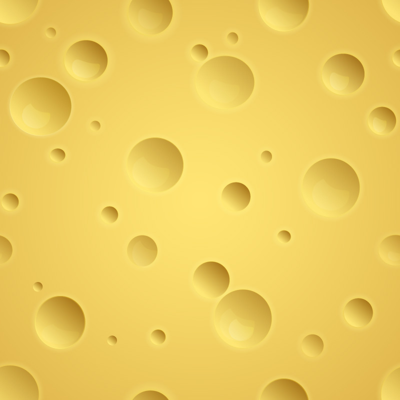 Shiny Yellow Cheese Background Vector 14